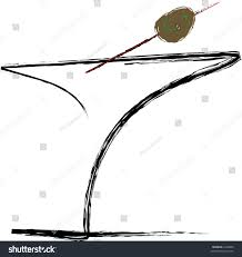 martini olive clipart martini glass olive stock illustration 3322899 shutterstock