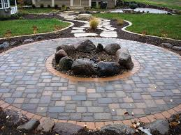 belgard fire pit square paver patio firepit homedesignlatest site