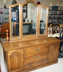Bedroom Vanities With Mirrors Traditional Bedroom Vanity Table With Carved Wood Storage Below