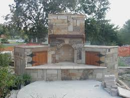 outdoor stone fireplace designs home design