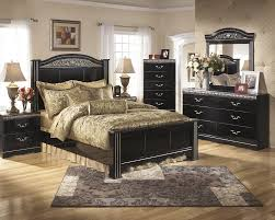 Ashley Bedroom Set With Leather Headboard Constellations Poster 4pc Bedroom Set By Signature Design By Ashley