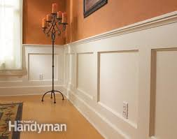 Wall Wainscoting How To Build A Wainscoted Wall Walls Wainscoting And House