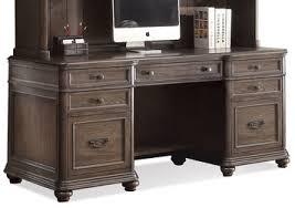 riverside belmeade executive desk belmeade credenza by riverside home gallery stores