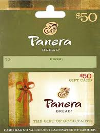 restaurant gift cards half price panera bread gift card 25 gift cards