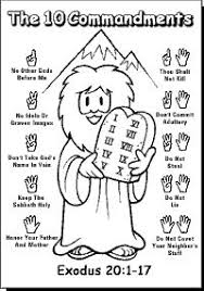 a true catholic version of the ten commandments for kids the