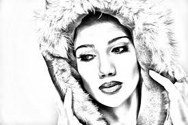 photoshop pencil sketch effect change your photo into pencil