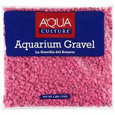 aqua culture pink aquarium gravel 2 lb walmart