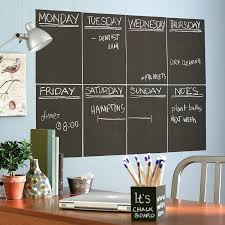 amazon com wallies wall decals reusable slate gray chalkboard