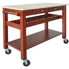 cherry kitchen island cart sonoma cherry kitchen island cart w golden garnet granite top