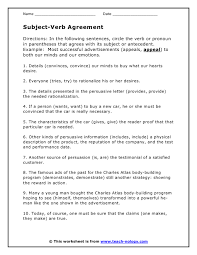 predicate adjective worksheet worksheets