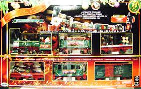 eztec 37260 north pole express christmas train set rc g scale new
