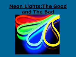 neon lights the and the bad atomic weight melting point c