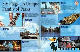 New York To Six Flags New Jersey 1994 Six Flags Overview Guide Overall History Of Great Adventure