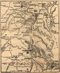 Virginia Map by Civil War Map