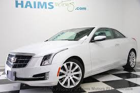 ats cadillac coupe 2016 used cadillac ats coupe 2dr coupe 2 0l luxury collection rwd