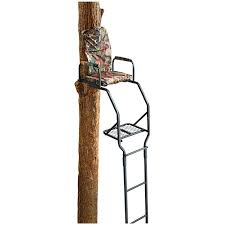 guide gear 16 basic ladder tree stand tree