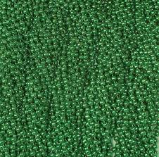 green mardi gras green mardi gras necklaces party favors