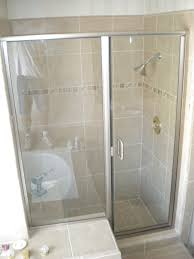 Small Shower Stall by Stall Designs Custom Home Design