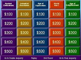 Powerpoint Jeopardy Template With Sound Free Jeopardy Powerpoint Jepordy Template