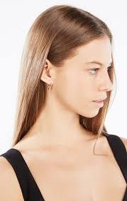 hoop huggie huggie hoop earrings