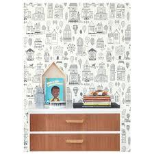 papier peint moderne chambre papier peint enfant graphique pour animer et décorer la chambre d