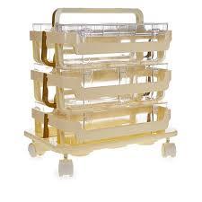 ribbon dispenser griffin 3 tier storage caddies with ribbon dispenser and