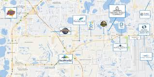 Usf Map Sandlake Station Orlando U2013