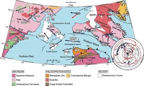 Plate Tectonics Map Precambrian Plate Tectonics Seismic Evidence From Northern Hudson