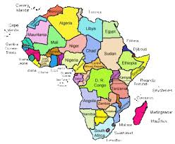 map with names of countries in africa countries quiz programs