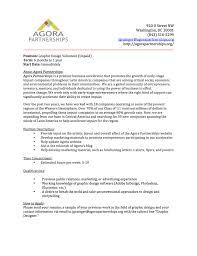graphic design cover letter sample stibera resumes