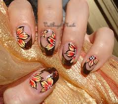 nail for thanksgiving 50 thanksgiving nail designs for fall season with images
