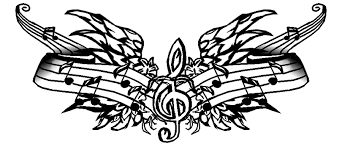 cool music tattoo design music tattoo designs clip art library