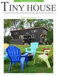 on the cover of tiny house magazine tiny house basics