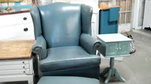 Teal Chair And Ottoman Ottoman Blue Chair With Ottoman Blue Chair With Ottoman Slate