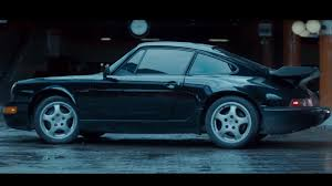 porsche 964 wide body what kind of porsche is that in the u0027atomic blonde u0027 trailer the