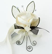 Prom Corsages And Boutonnieres Cynthia Shaffer Fabric Wire Paper U003d Prom Corsage And