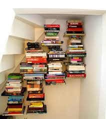 Wall Mounted Bookcase Shelves Buy Invisible Book Shelf Floating Design Home Office Hidden Wall