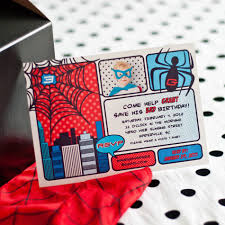 spiderman party invitations free printable invitation design