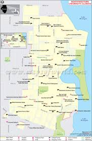 Colorado College Campus Map by Northwestern University Map Illinois Northwestern University
