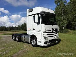 used mercedes benz actros 2551 ls sverigedragare tractor units