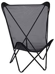 siege pliant lafuma lafuma maxi pop up fauteuil pliant black noir amazon fr