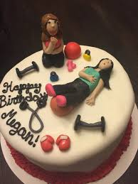 birthday cake with personal photo 2