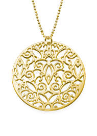 silver vintage necklace images 18k gold plated sterling silver vintage filigree necklace modli jpg