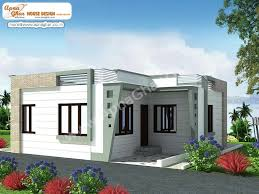 single home designs 1250 sq ft single storied modern home design