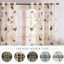 Butterfly Kitchen Curtains Curtain Mesh Picture More Detailed Picture About Butterfly