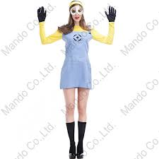 Despicable Minion Halloween Costume Aliexpress Buy Wemon Despicable Minions Cosplay