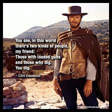 The Good The Bad And The Ugly Meme - at a drive in theatre in the 60 s with a clint eastwood marathon