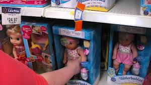 barbie cars at walmart checking out the baby doll section at walmart youtube