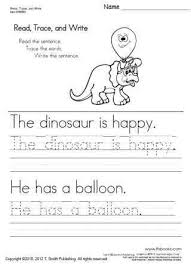 free printable word tracing sheets read trace and write worksheets 1 5