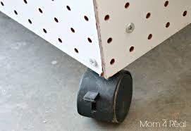 pegboard storage containers make your own portable tool storage organization caddy mom 4 real